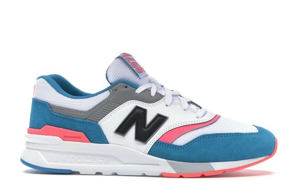 New Balance 997 White Aqua