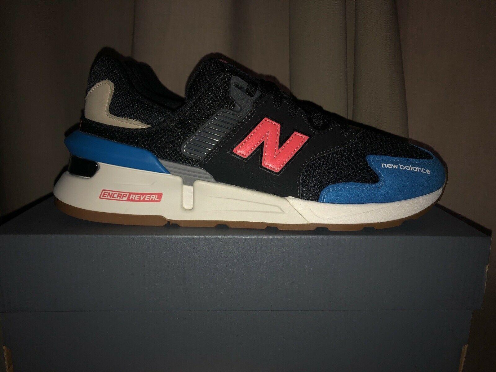 New Balance 997S Black Blue