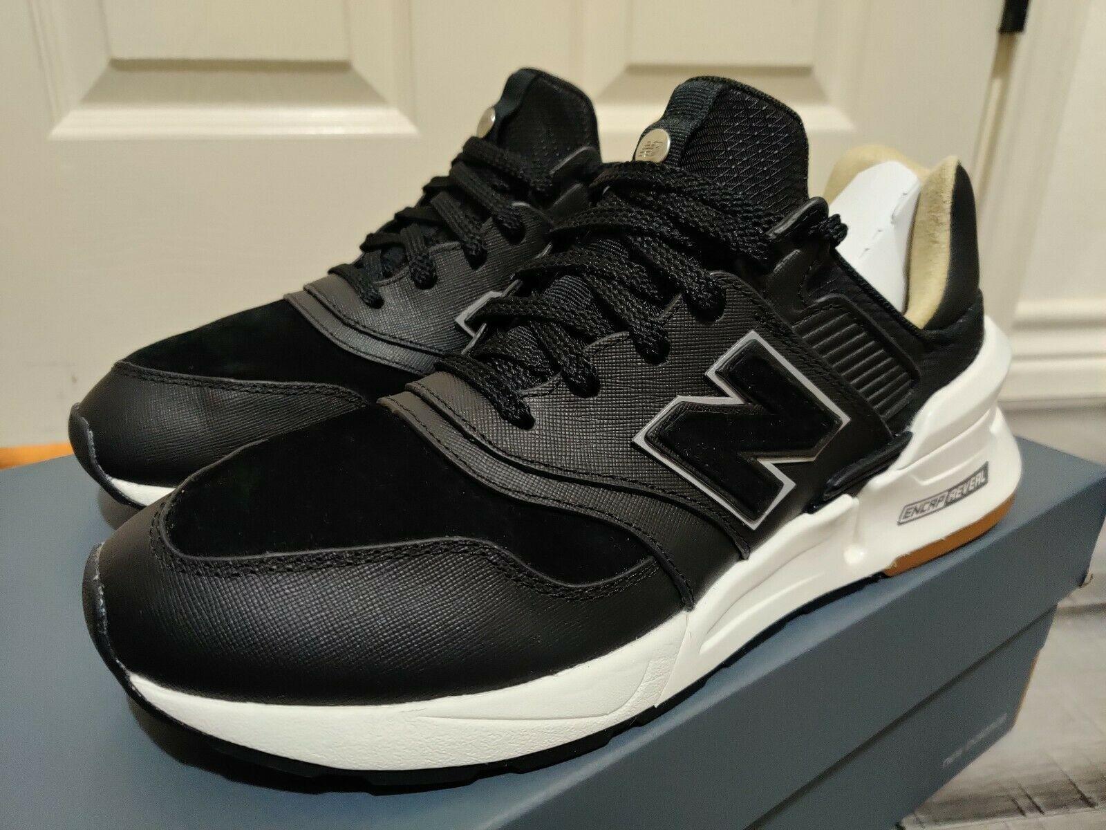 New Balance 997S Saffiano Leather Black