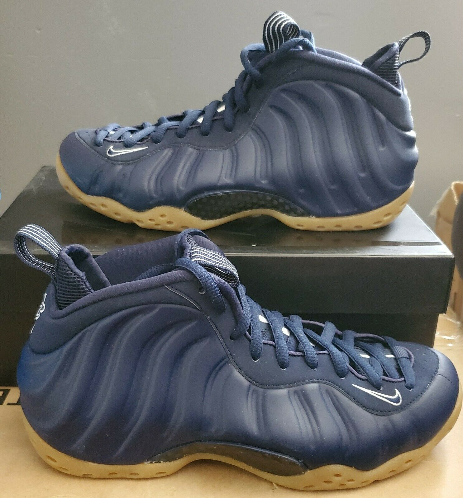 Nike Air Foamposite One Navy Gum