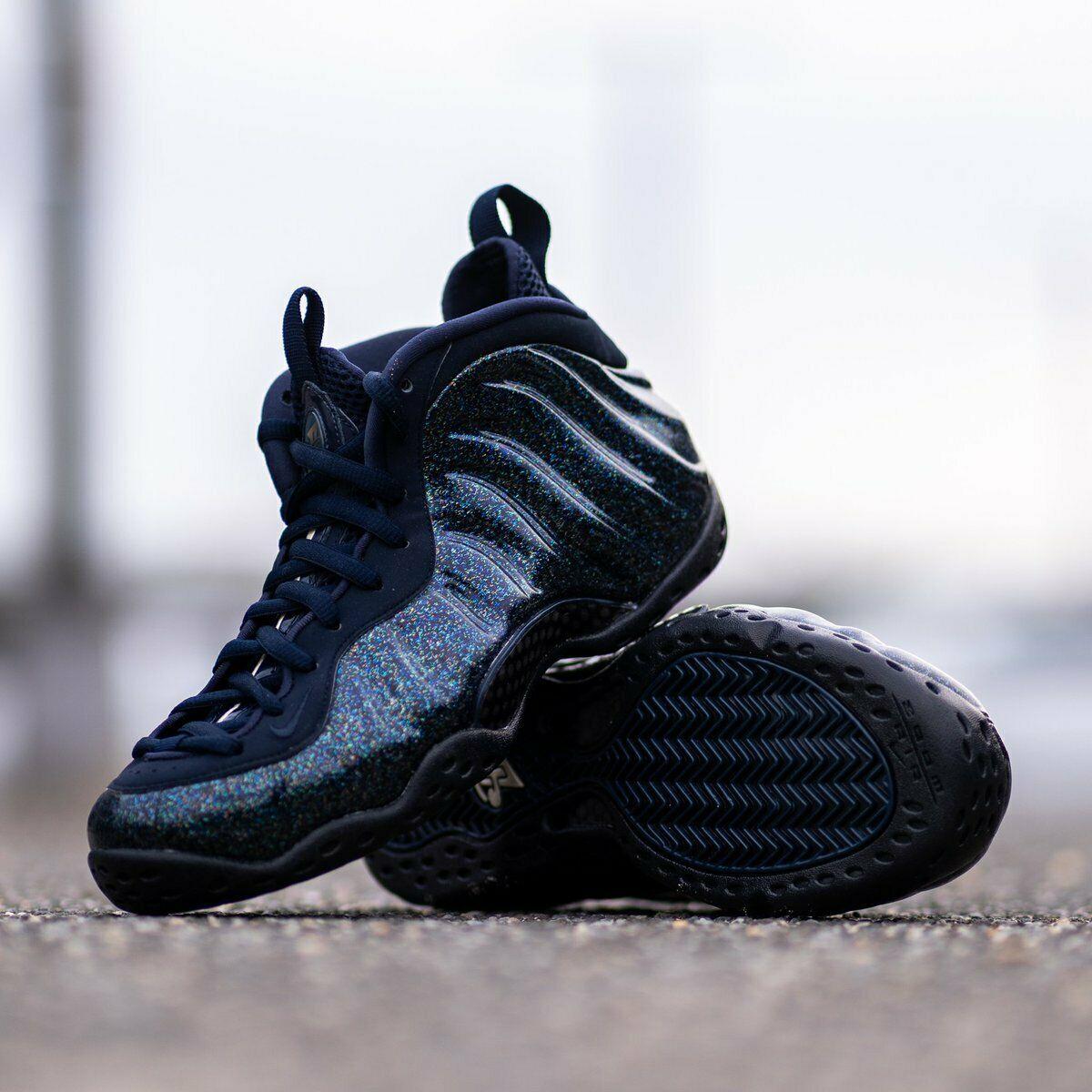 Nike Air Foamposite One Obsidian Glitter W