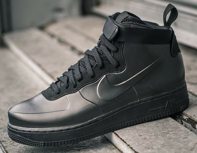 Nike Air Force 1 Foamposite Cup Triple Black