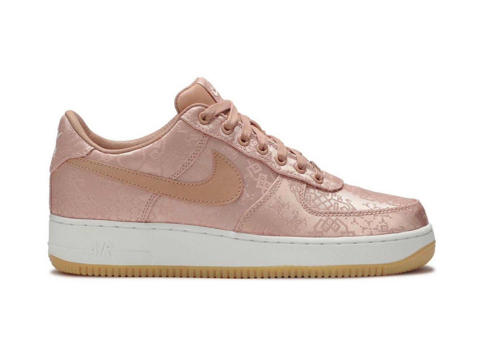 Nike Air Force 1 Low Clot Rose Gold Silk Regular Box