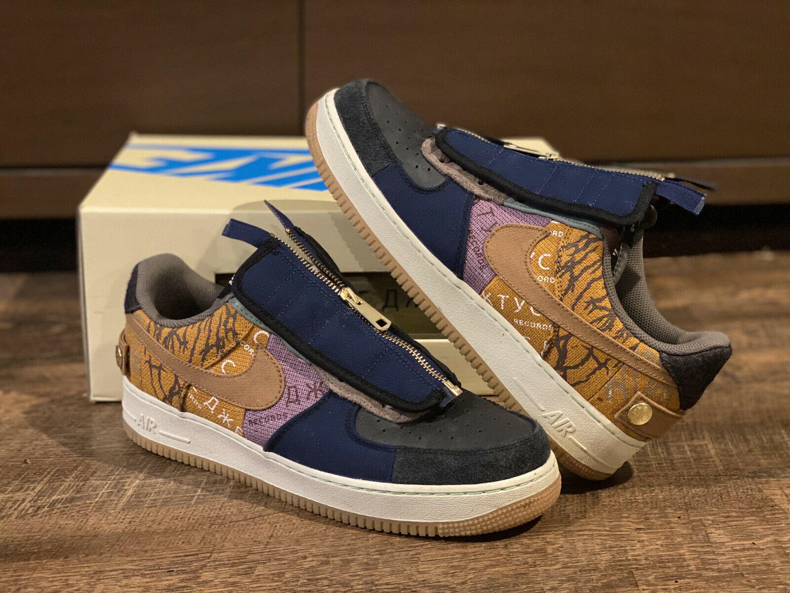Nike Air Force 1 Low Travis Scott Cactus Jack TD