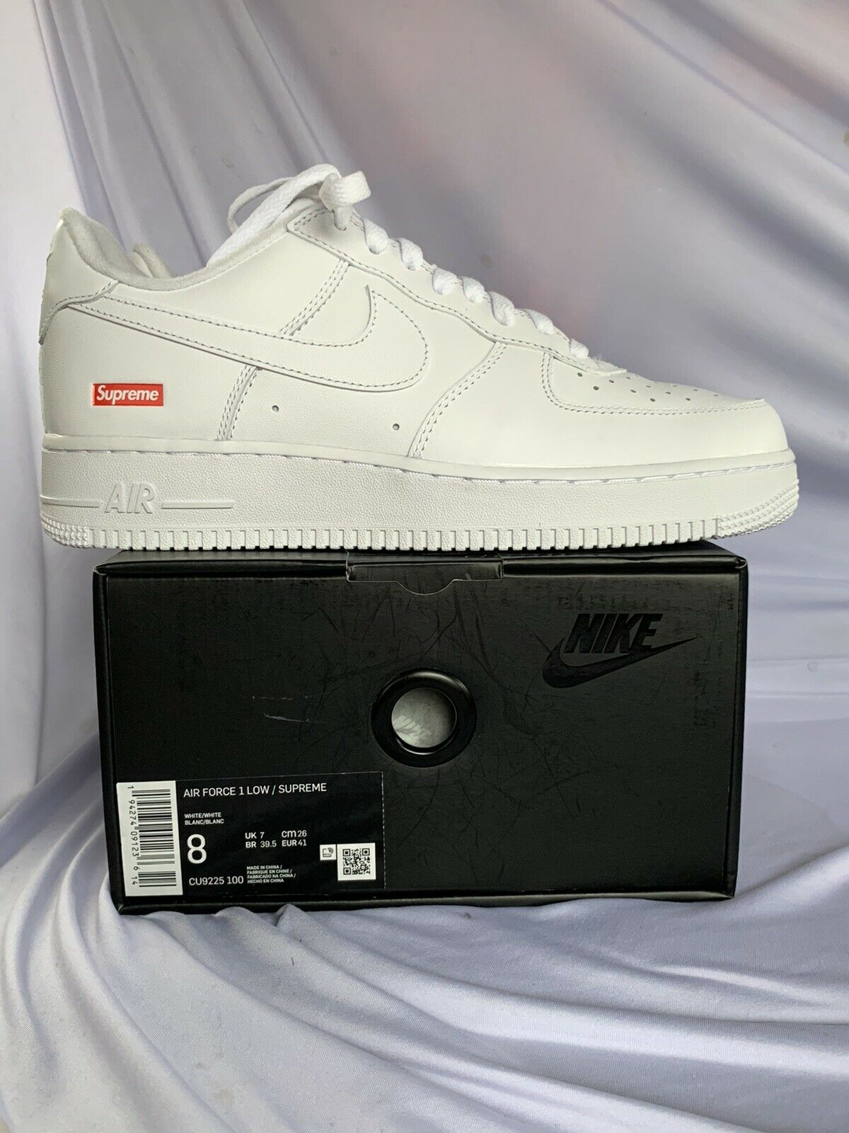 Nike Air Force 1 Low White 2018 W