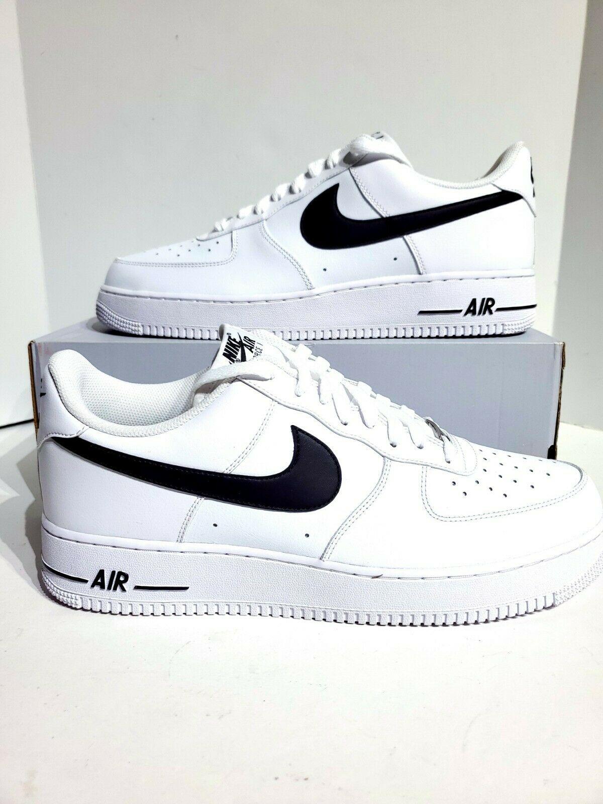 Nike Air Force 1 Low White Black 2020