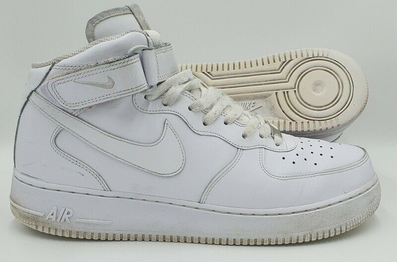Nike Air Force 1 Mid White 07