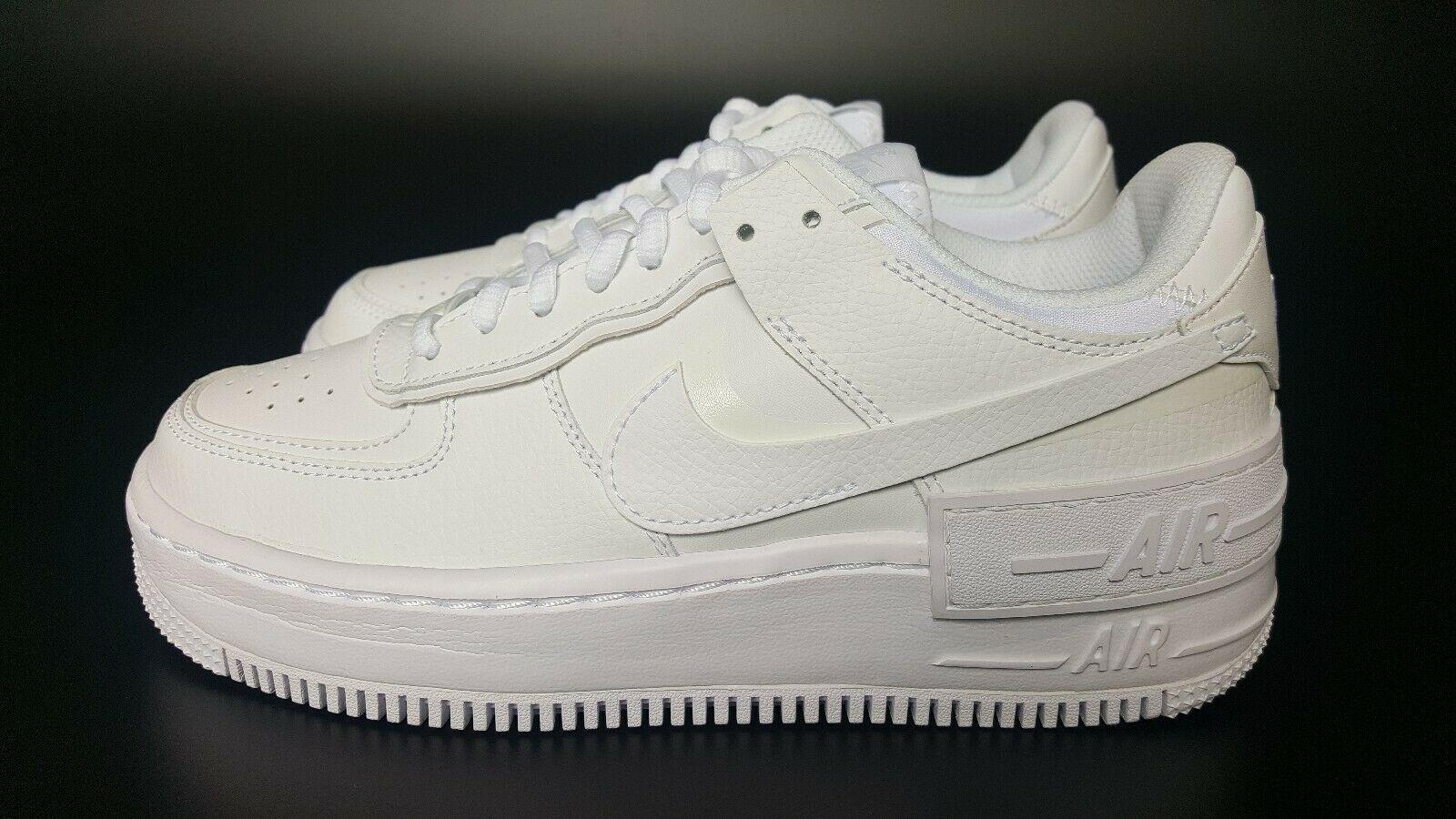 Nike Air Force 1 Shadow Triple White W