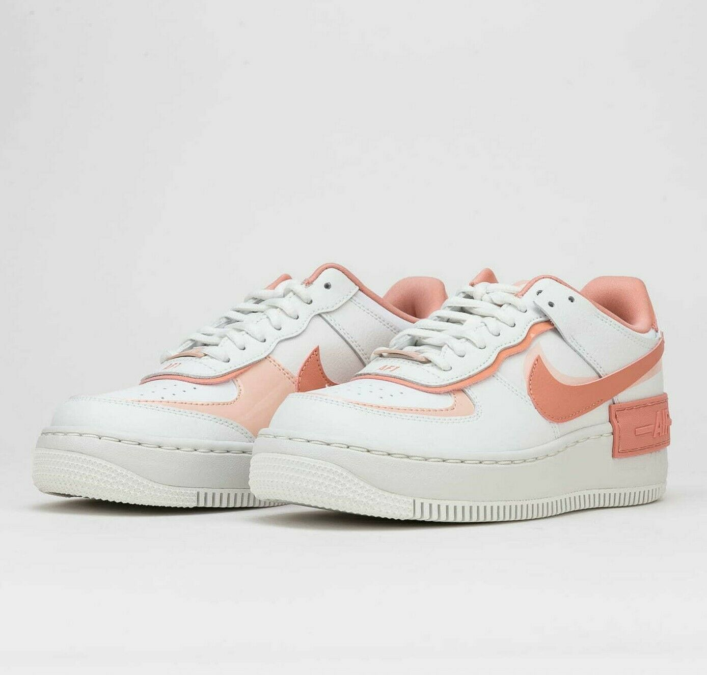 Nike Air Force 1 Shadow White Coral Pink W