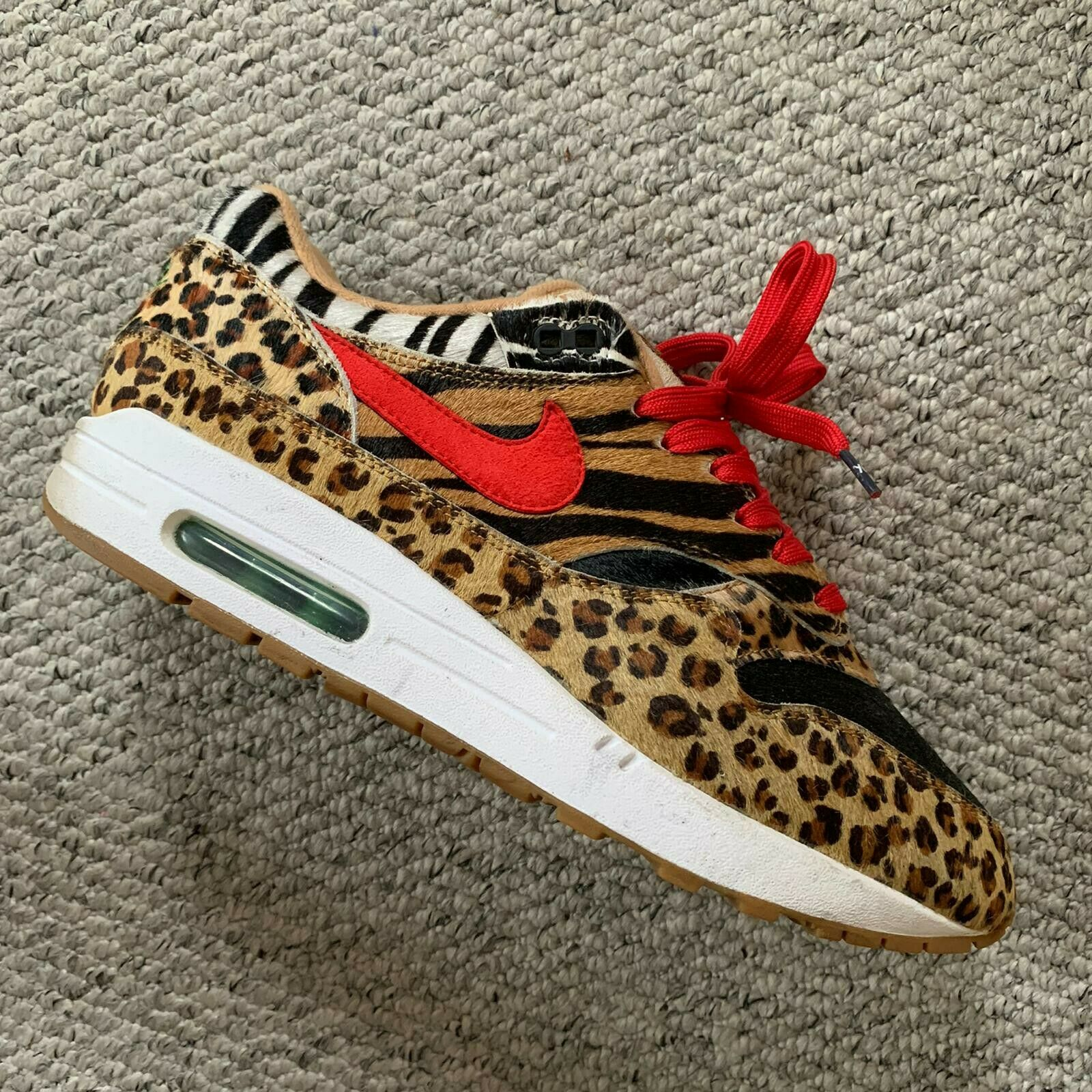 Nike Air Max 1 Atmos Animal Pack 2.0 2018 All Black Box