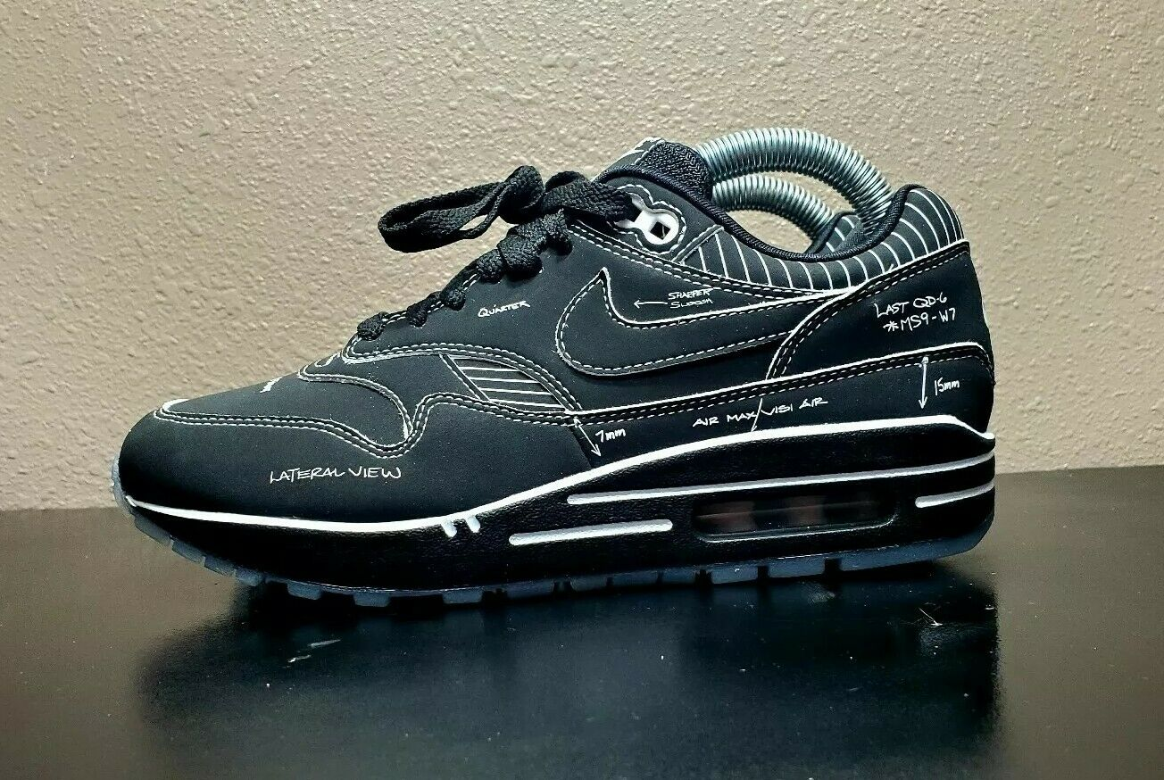 Nike Air Max 1 Tinker Sketch to Shelf Black