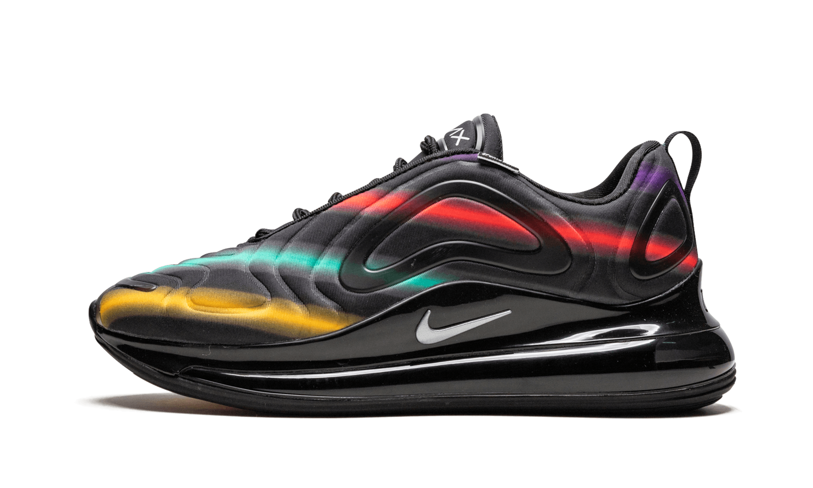 Nike Air Max 720 Black Neon Streaks