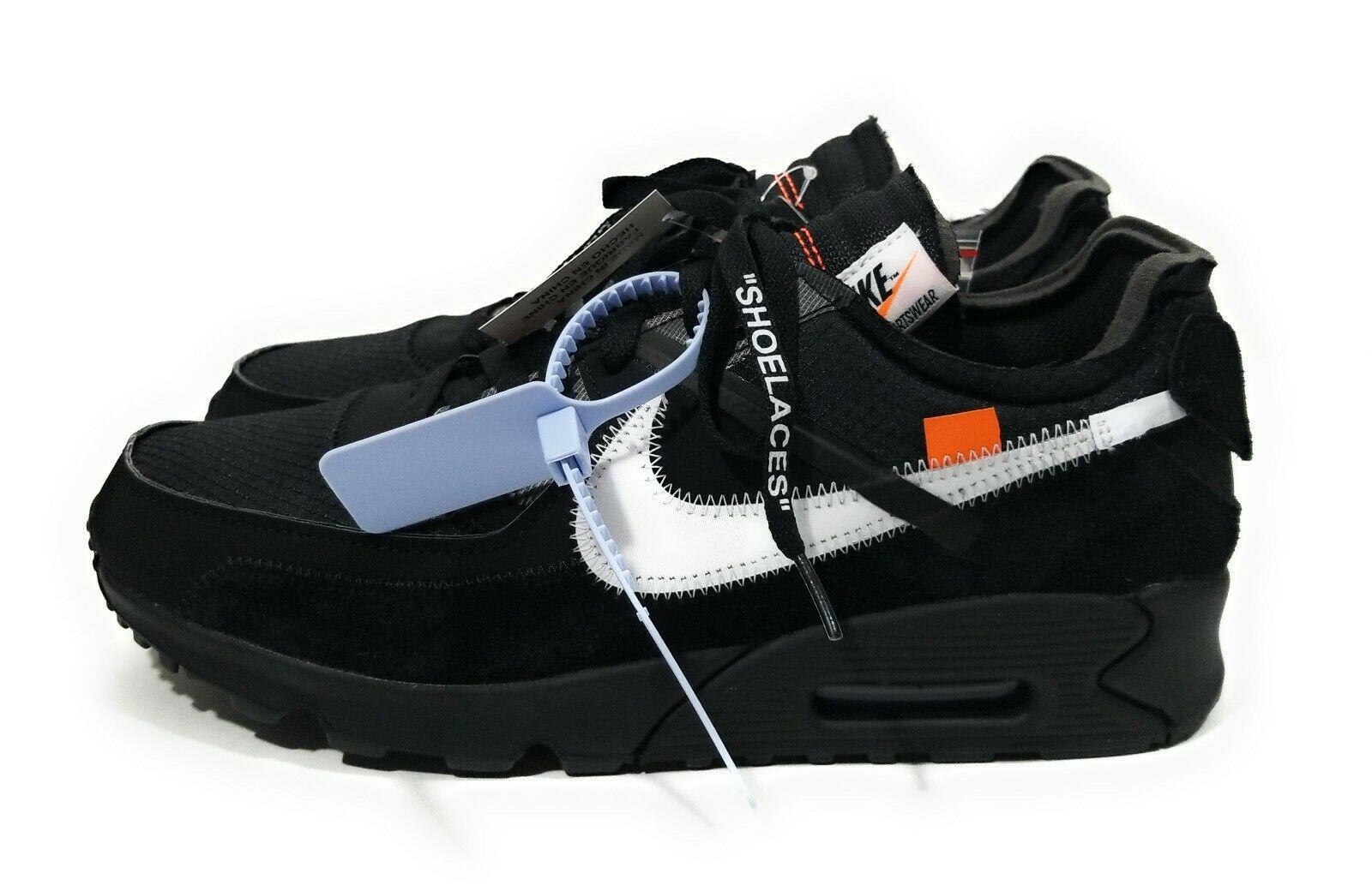 Nike Air Max 90 OFF WHITE Black