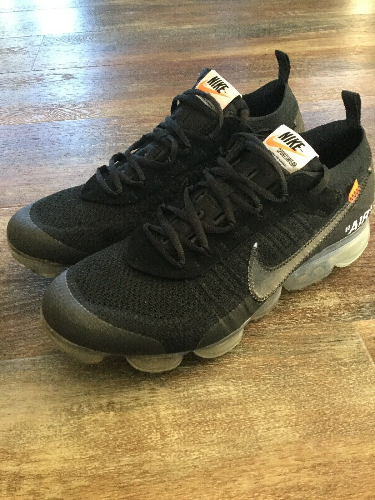 Nike Air VaporMax Off White Black