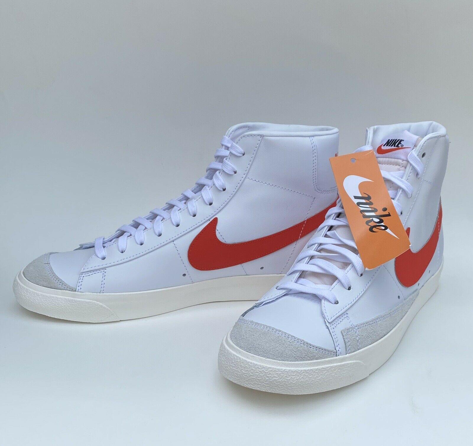 Nike Blazer Mid 77 Habanero Red