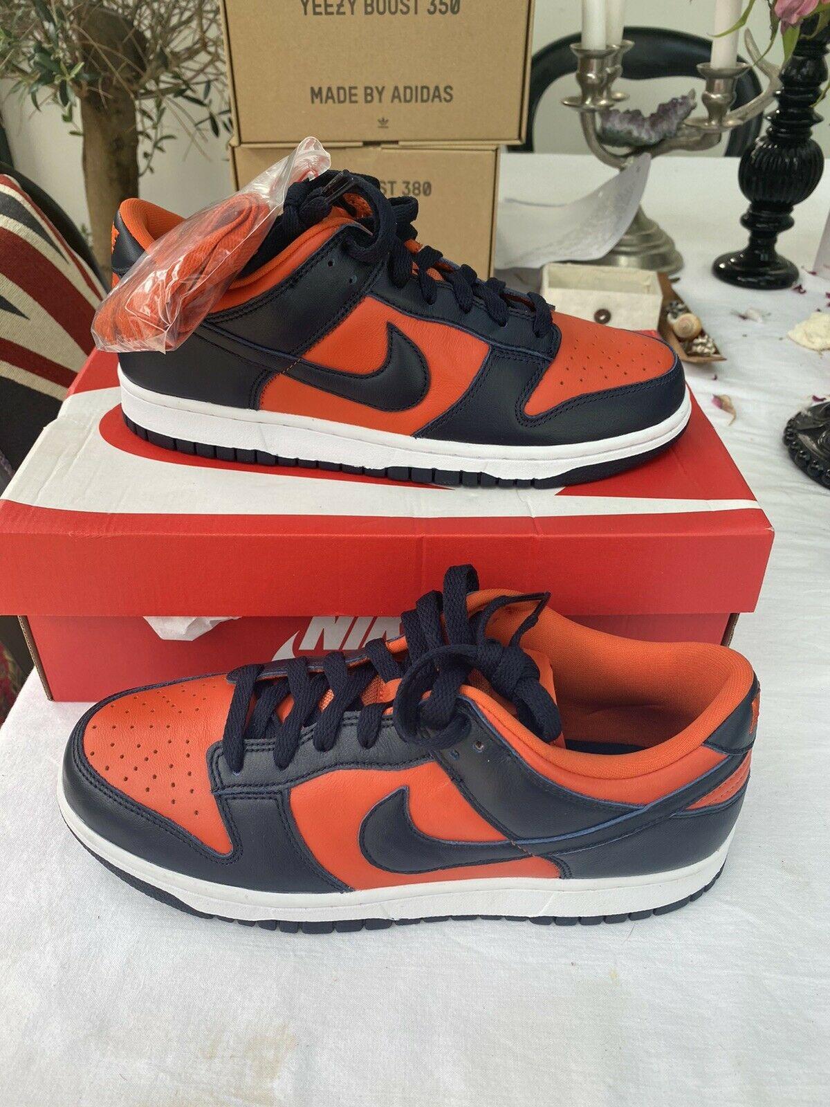 Nike Dunk Low SP Champ Colors University Orange Marine 2020