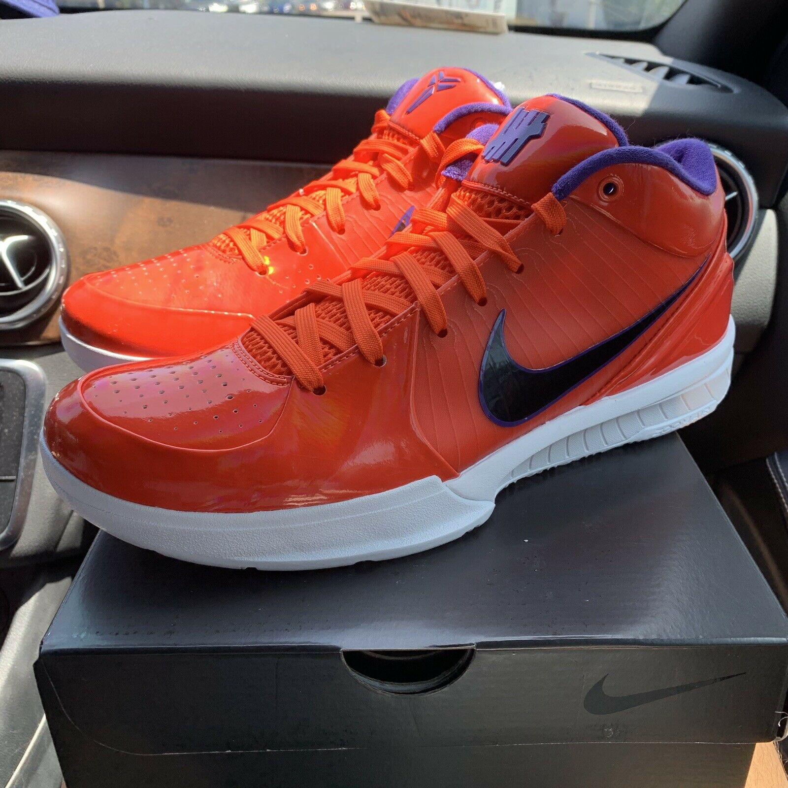Nike Kobe 4 Protro Undefeated Phoenix Suns
