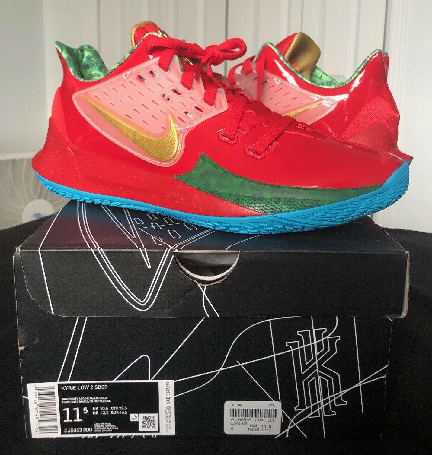 Nike Kyrie 2 Low Spongebob Mr Krabs