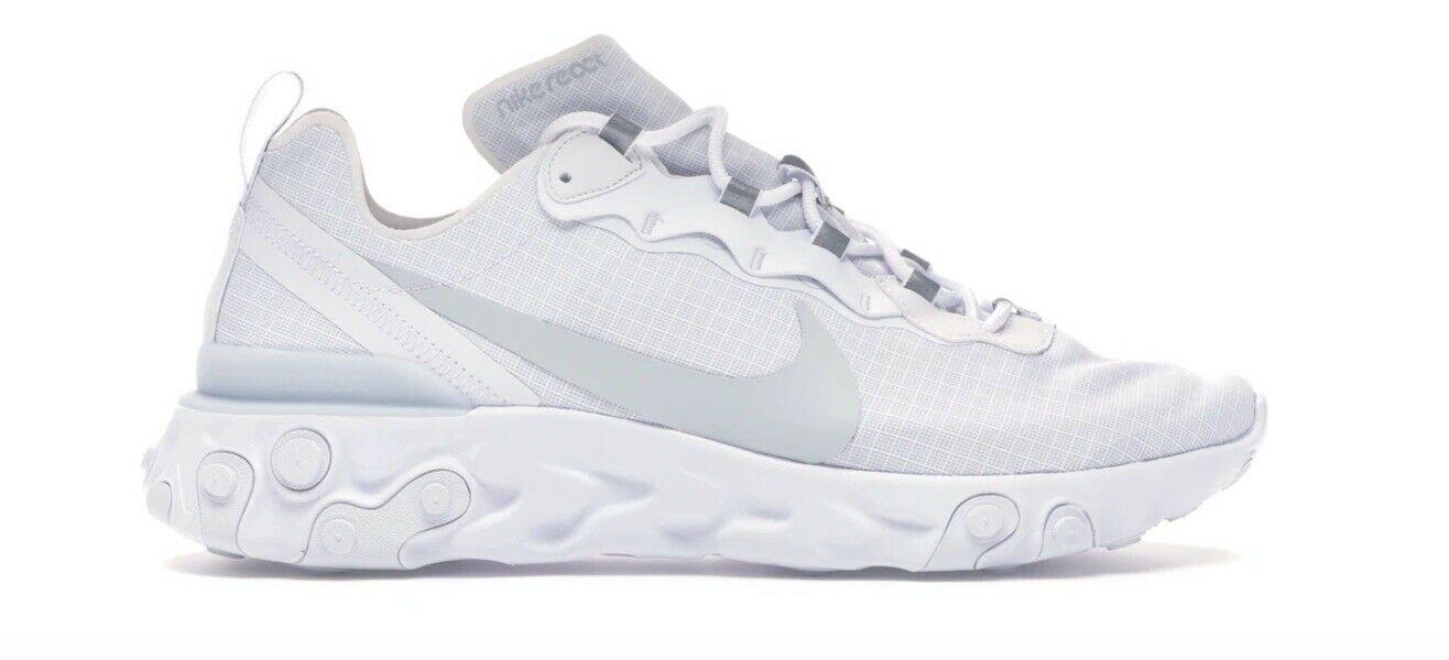 Nike React Element 55 SE White