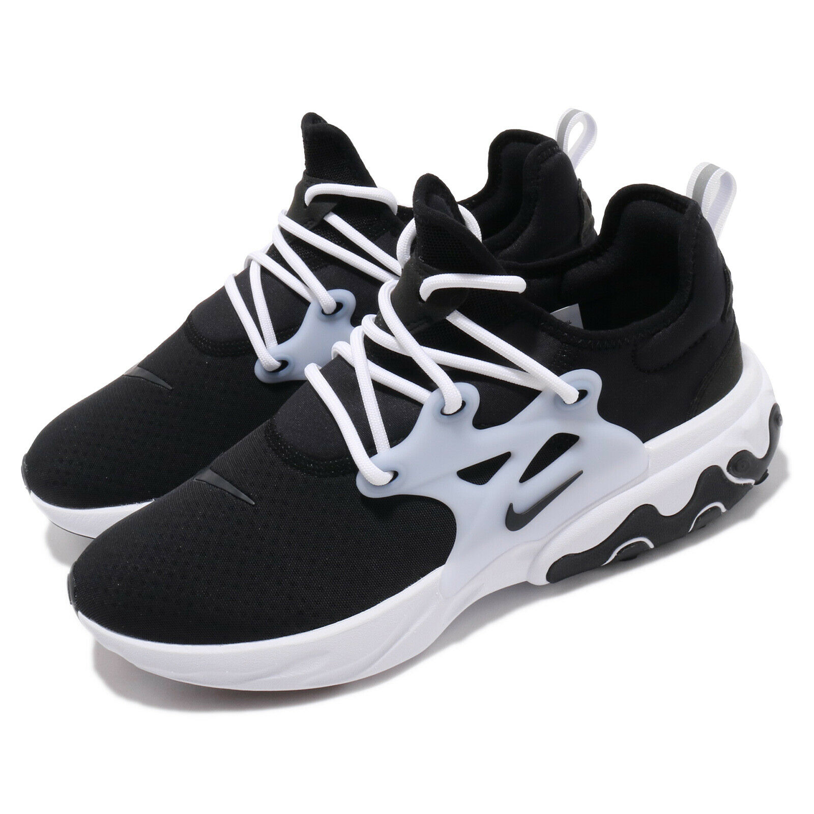 Nike React Presto Black White