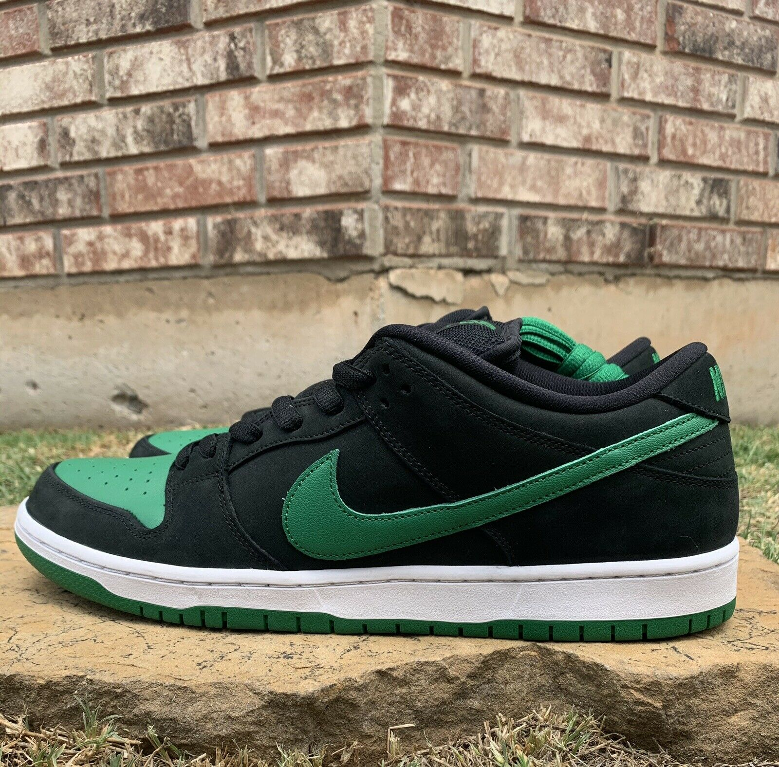 Nike SB Dunk Low Pro J Pack Black Pine Green