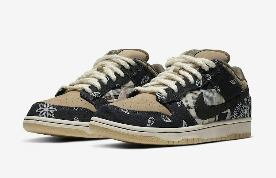 Nike SB Dunk Low Travis Scott Regular Box