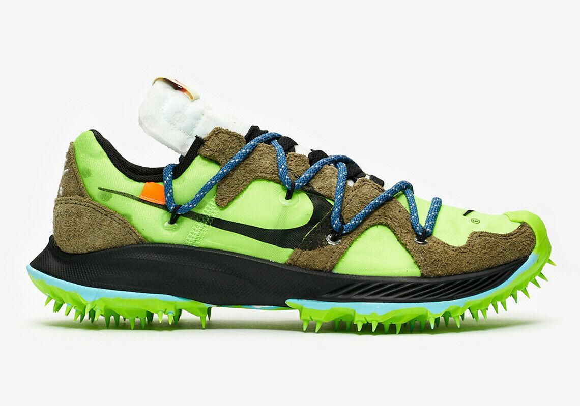 Nike Zoom Terra Kiger 5 OFF WHITE Electric Green W