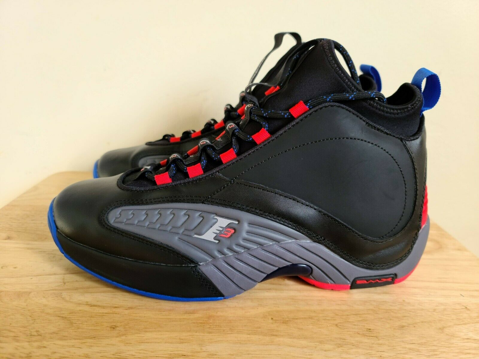 Reebok Answer 4.5 Black Grey Red