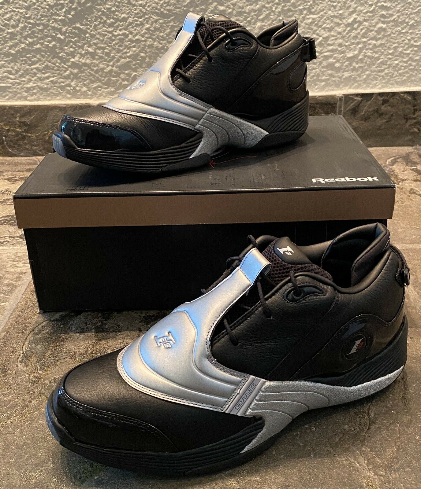 Reebok Answer 5 Black Silver