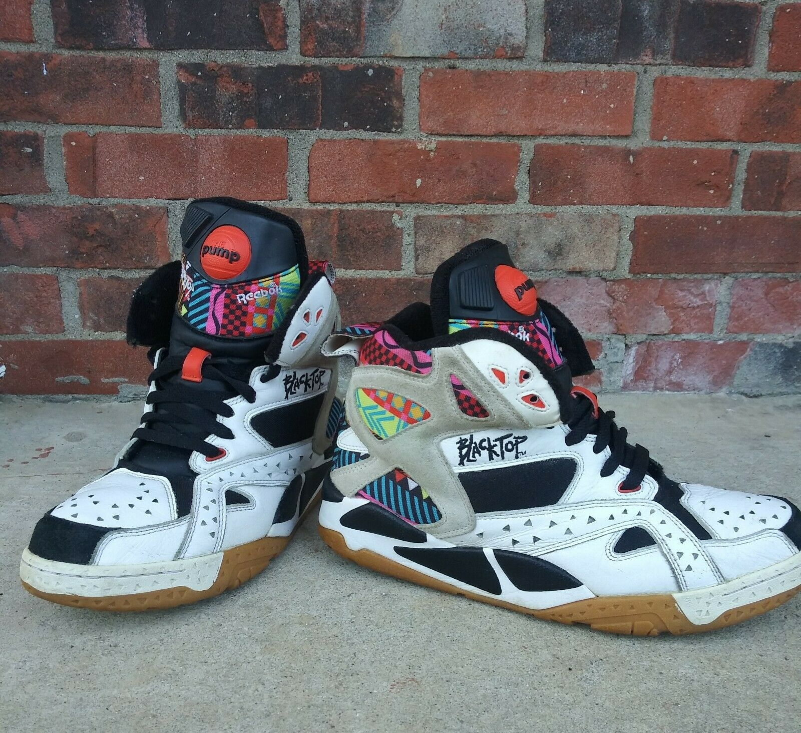 Reebok Blacktop Battleground Tribal Pump