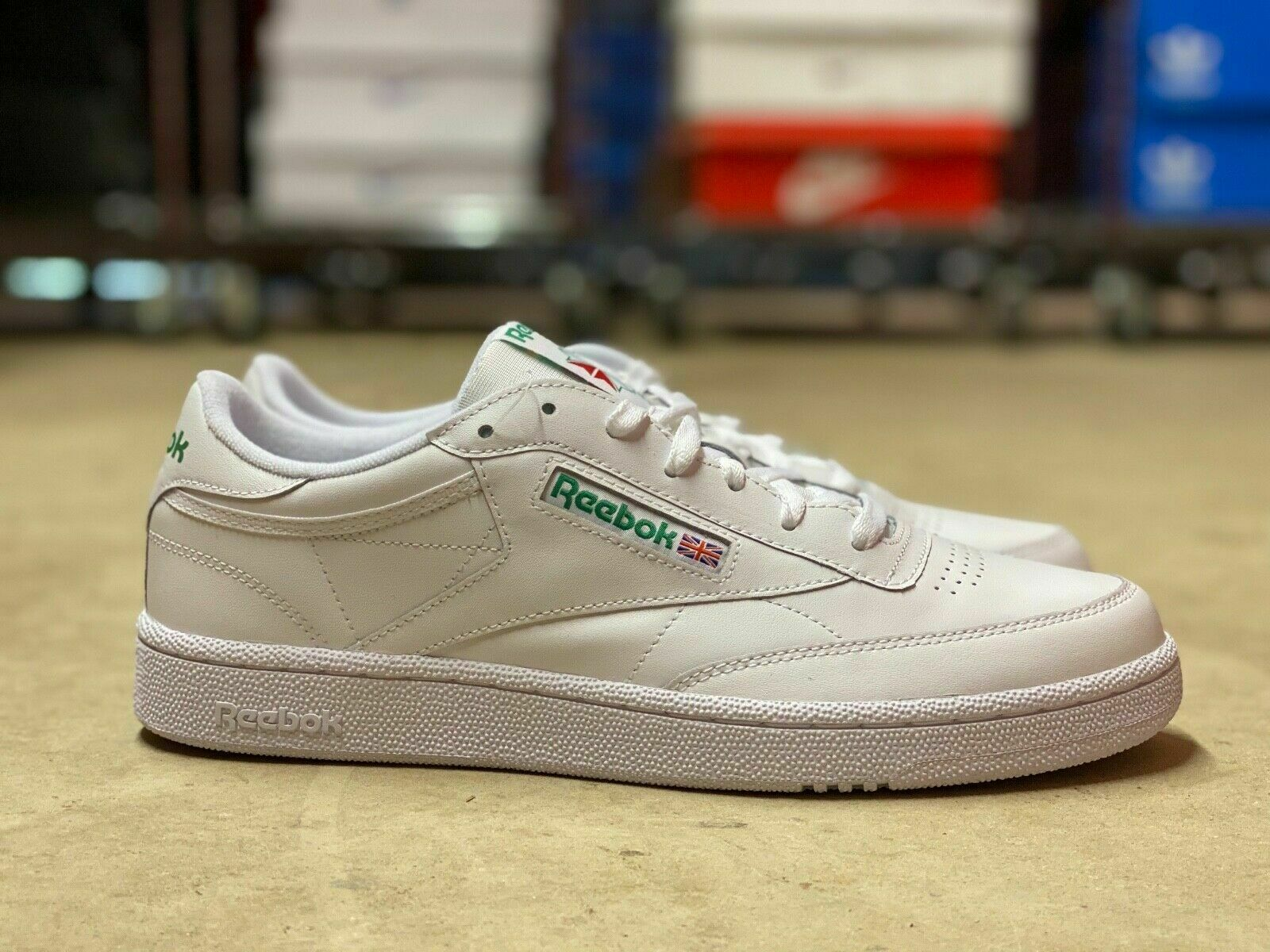 Reebok Club C 85 White Green