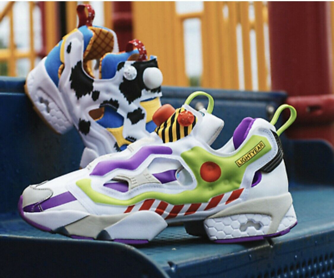 Reebok Instapump Fury Bait x Toy Story Woody and Buzz