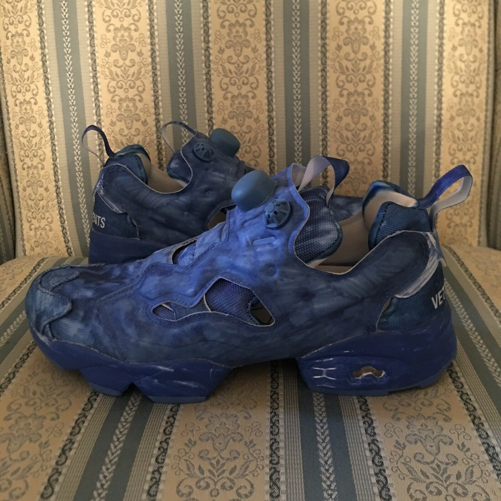 Reebok Instapump Fury Vetements Blue