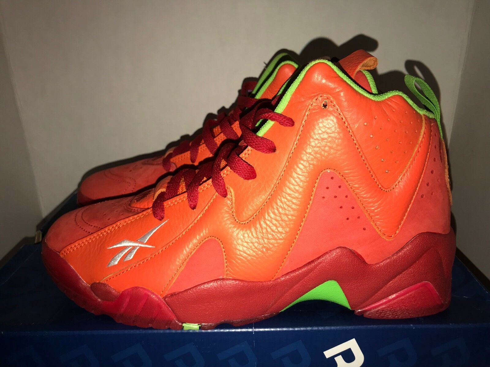 Reebok Kamikaze II Packer Shoes Chili Pepper