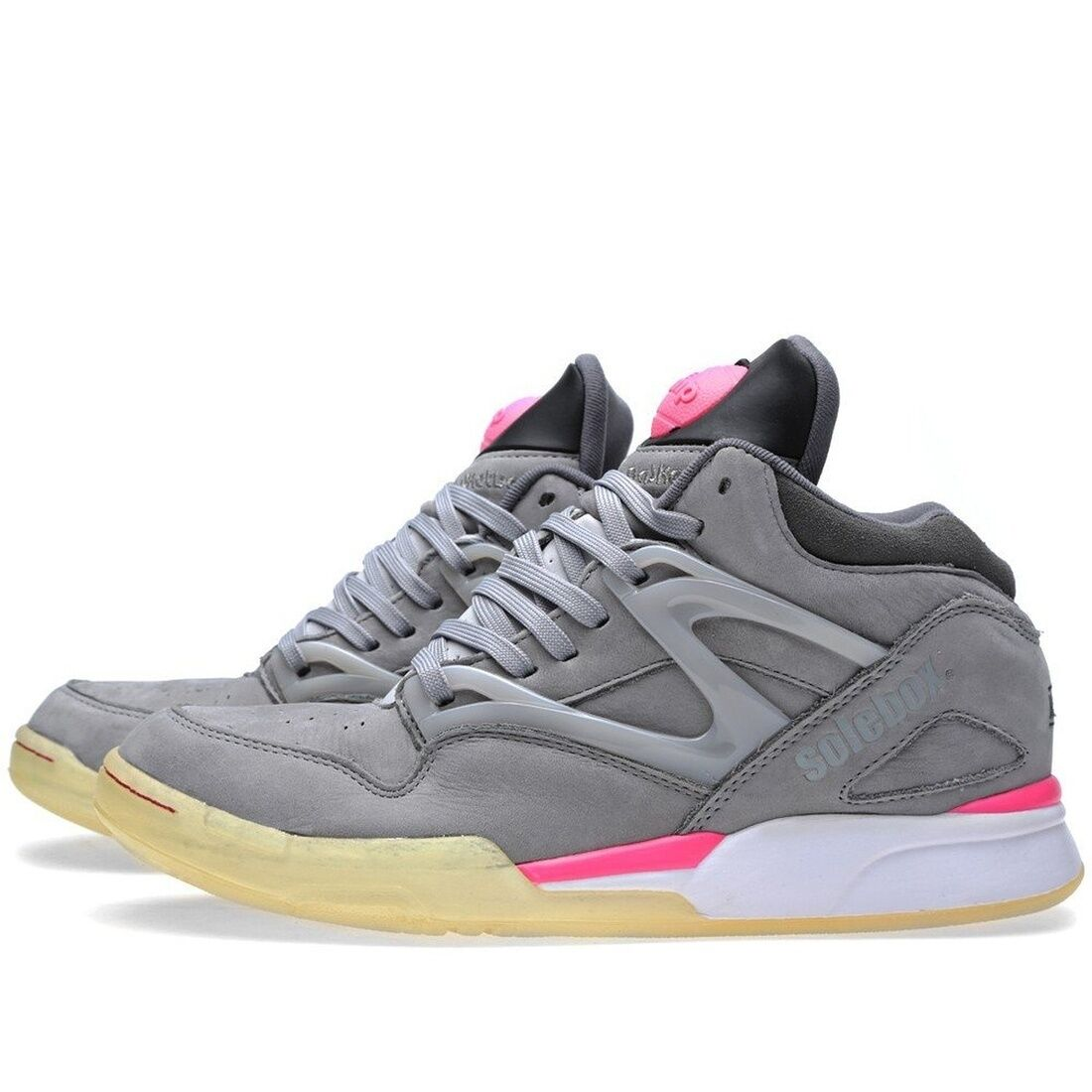 Reebok Pump Omni Lite Solebox Grey Pink