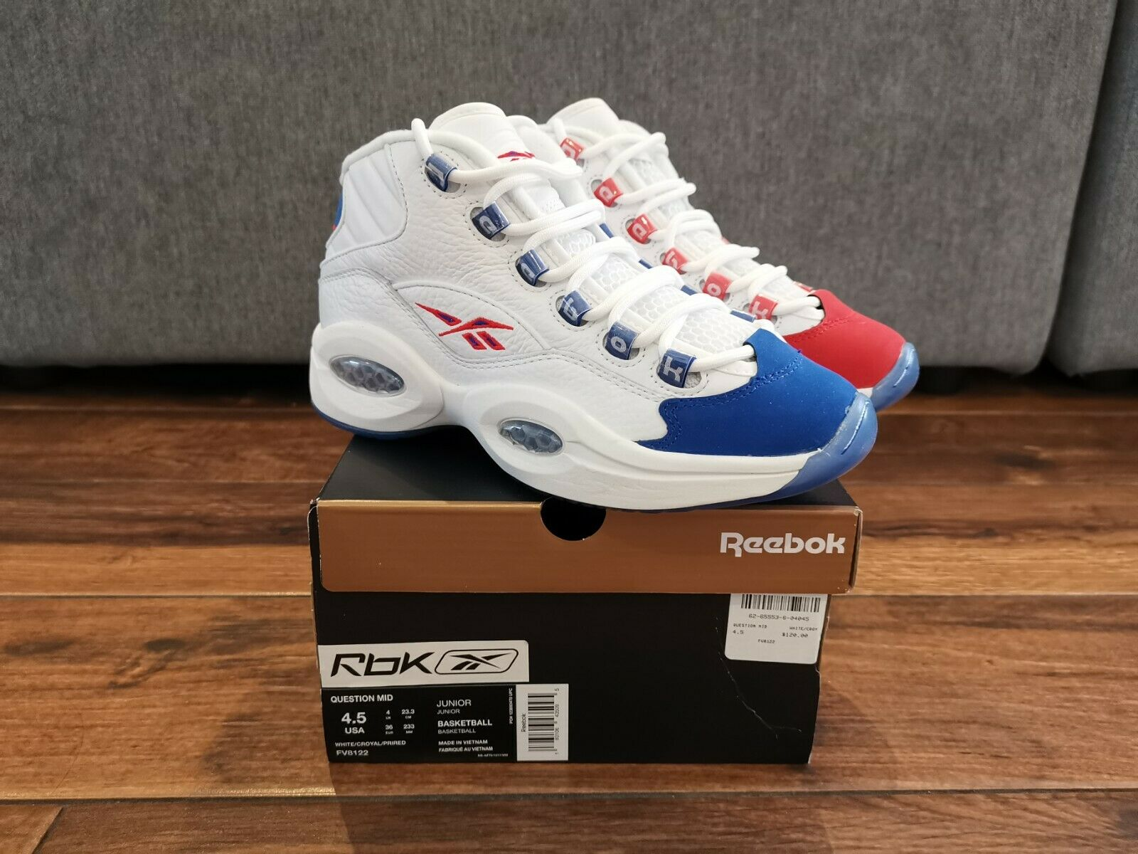 Reebok Question Mid Double Cross