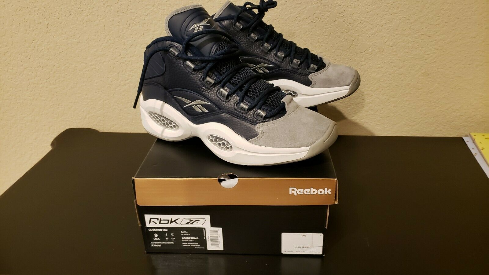 Reebok Question Mid Georgetown 2020