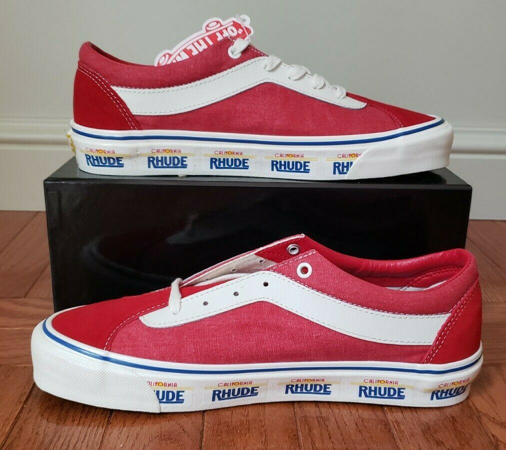 Vans Bold Ni Rhude Red