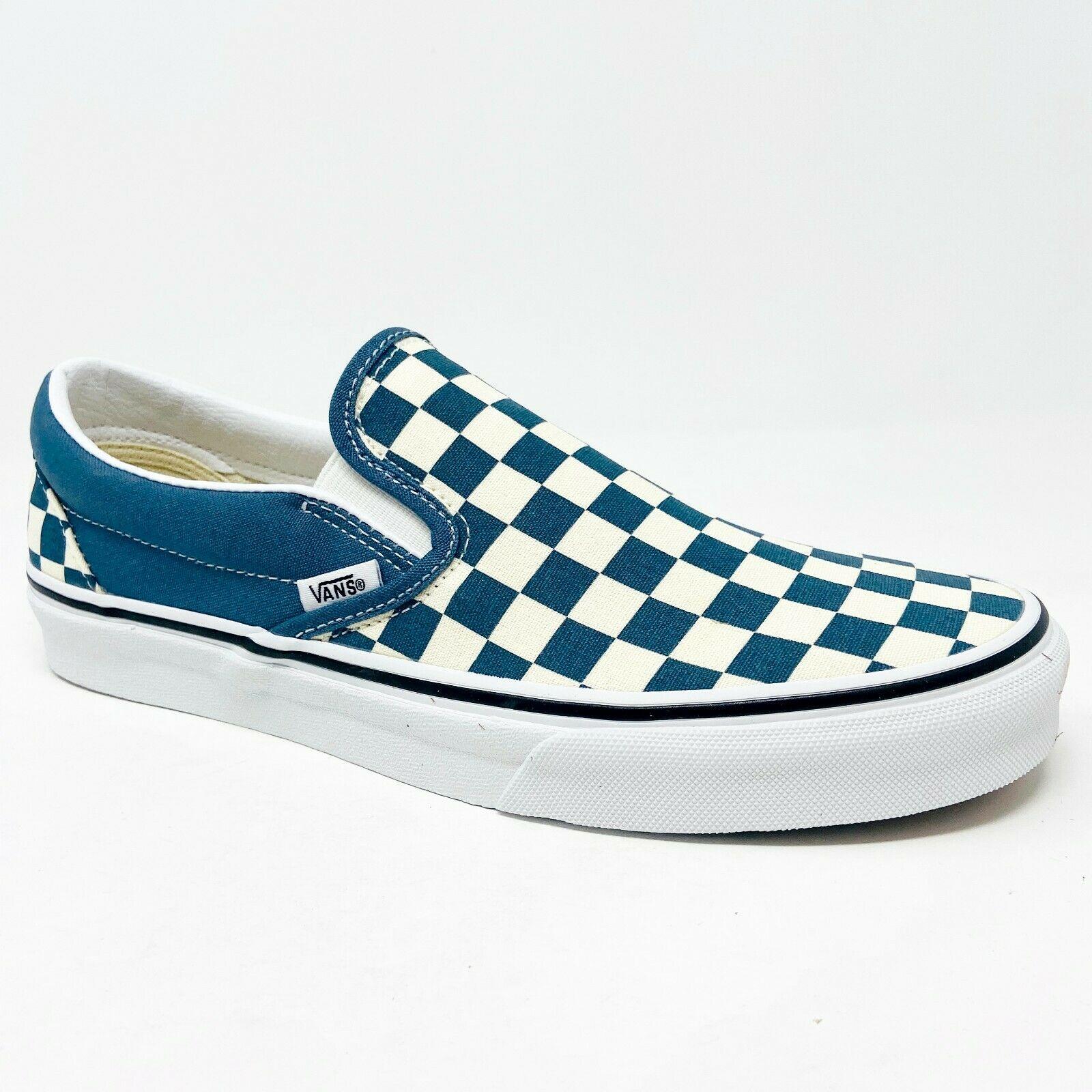 Vans Classic Slip On Checkerboard Ultramarine