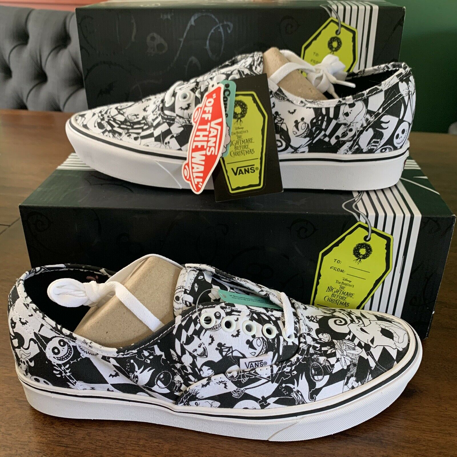 Vans Comfycush Authentic The Nightmare Before Christmas