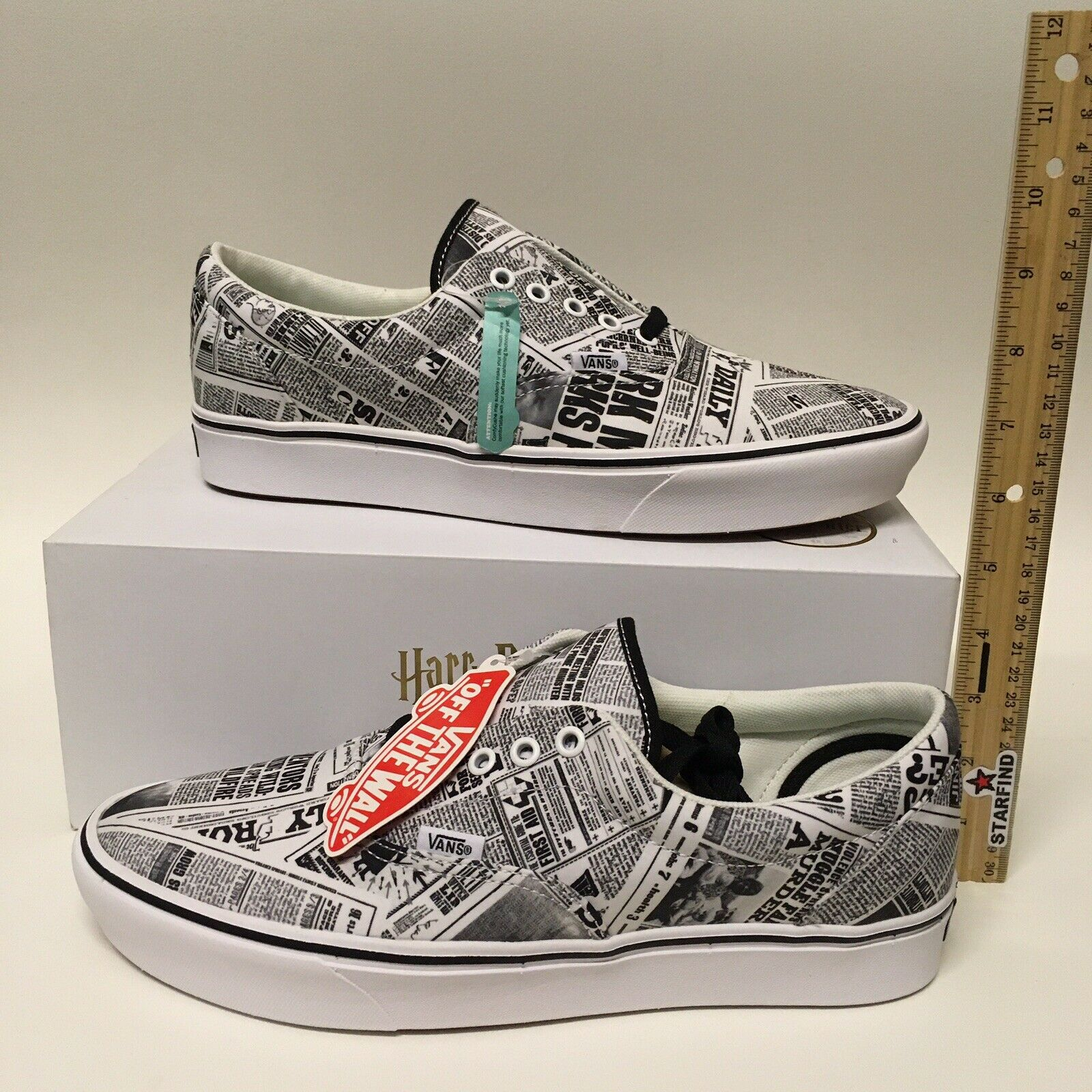 Vans Era ComfyCush Harry Potter Daily Prophet