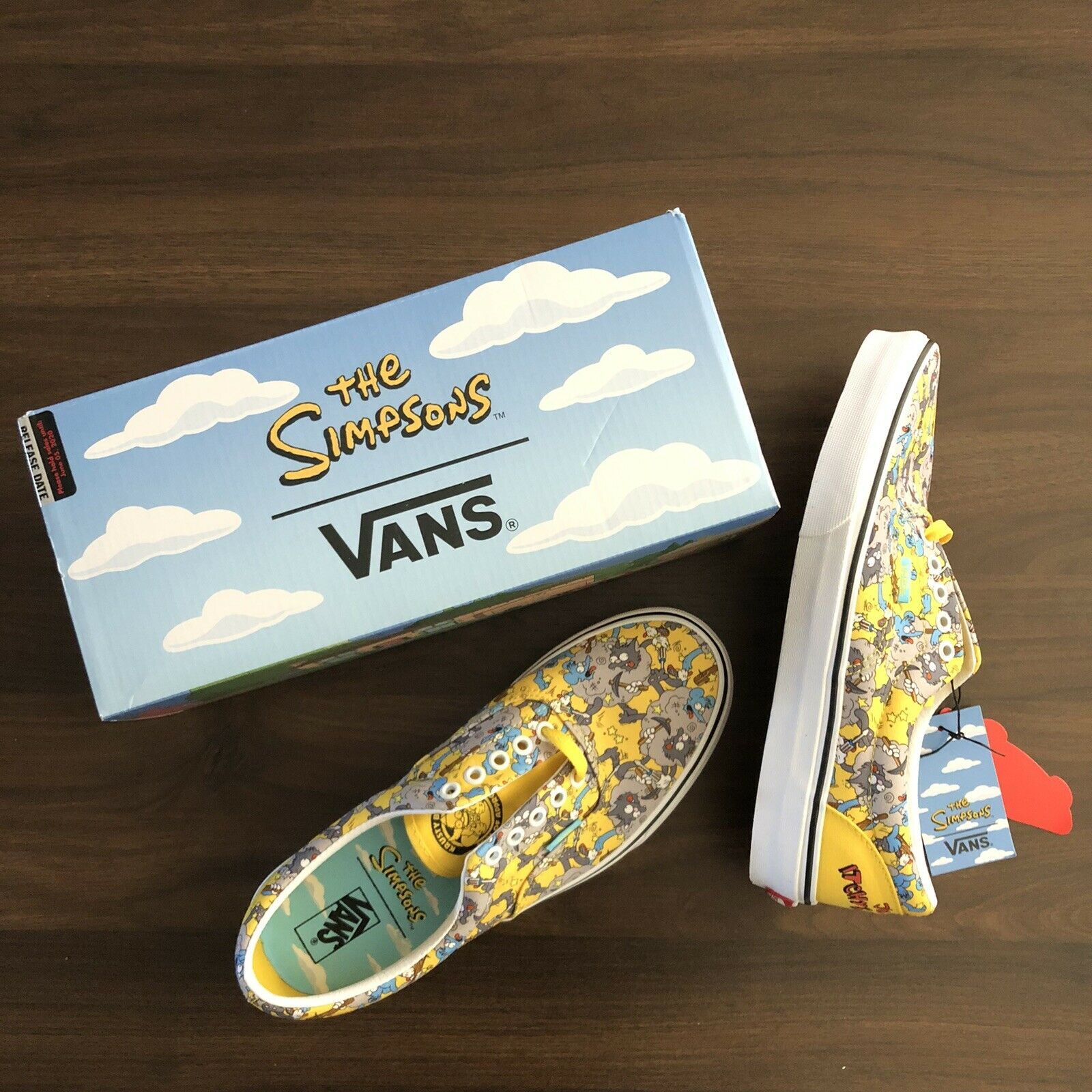 Vans Era The Simpsons Itchy Scratchy