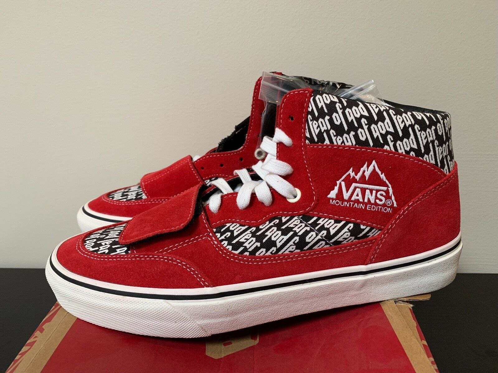 Vans Mountain Edition Fear of God Red