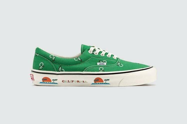Vans OG Era Paisley Green