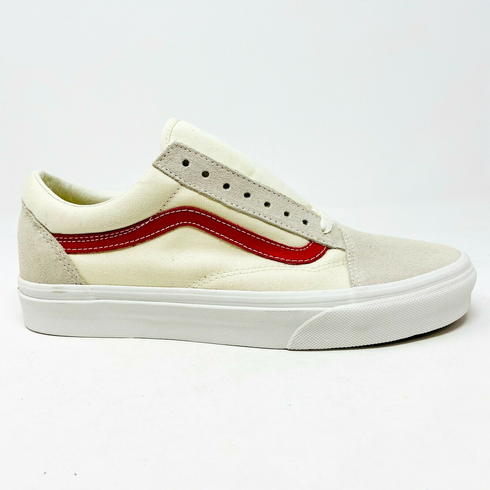 Vans Old Skool Cream Red