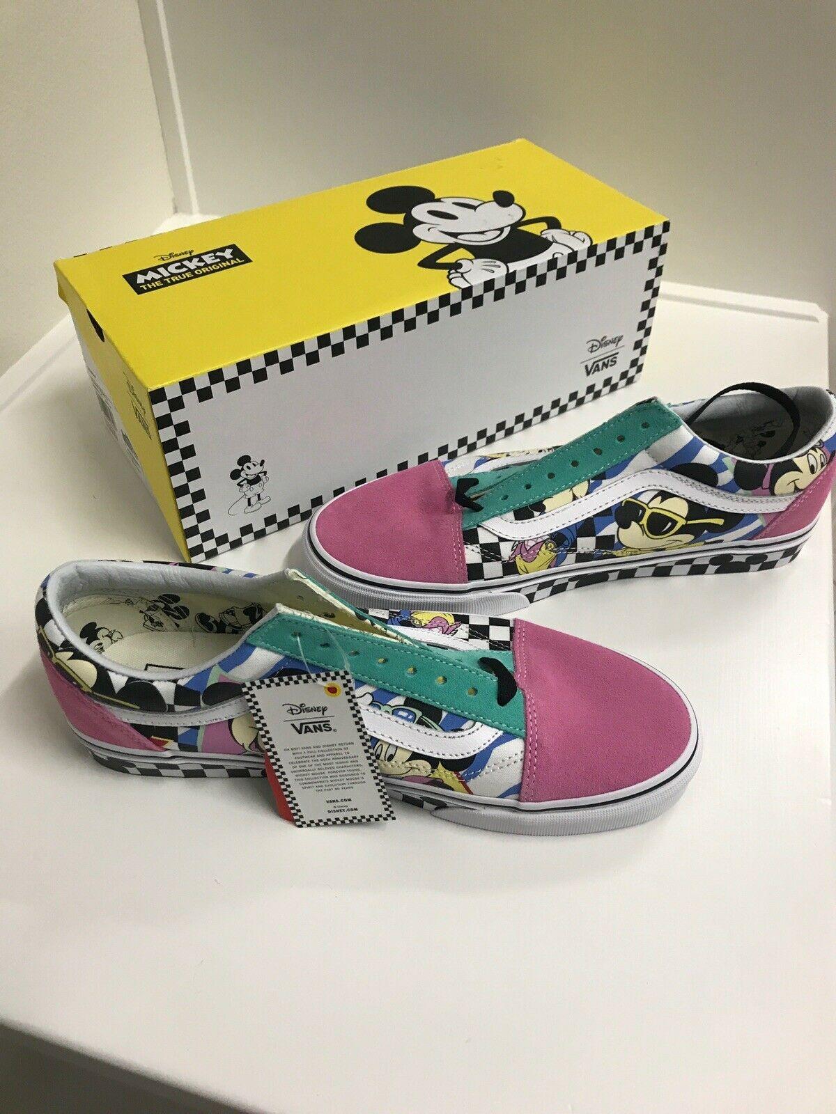 Vans Old Skool Disney 80s Mickey