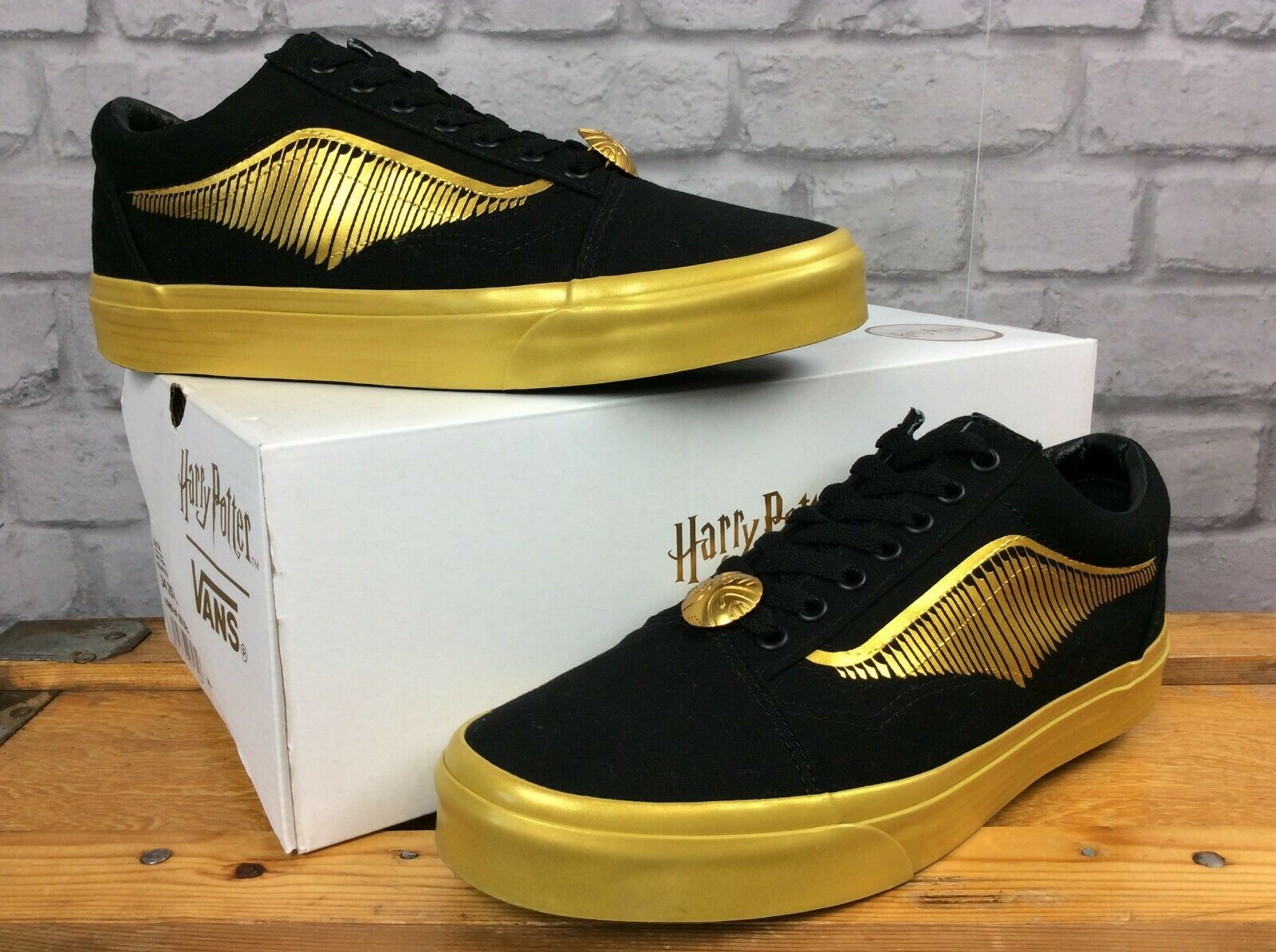 Vans Old Skool Harry Potter Golden Snitch