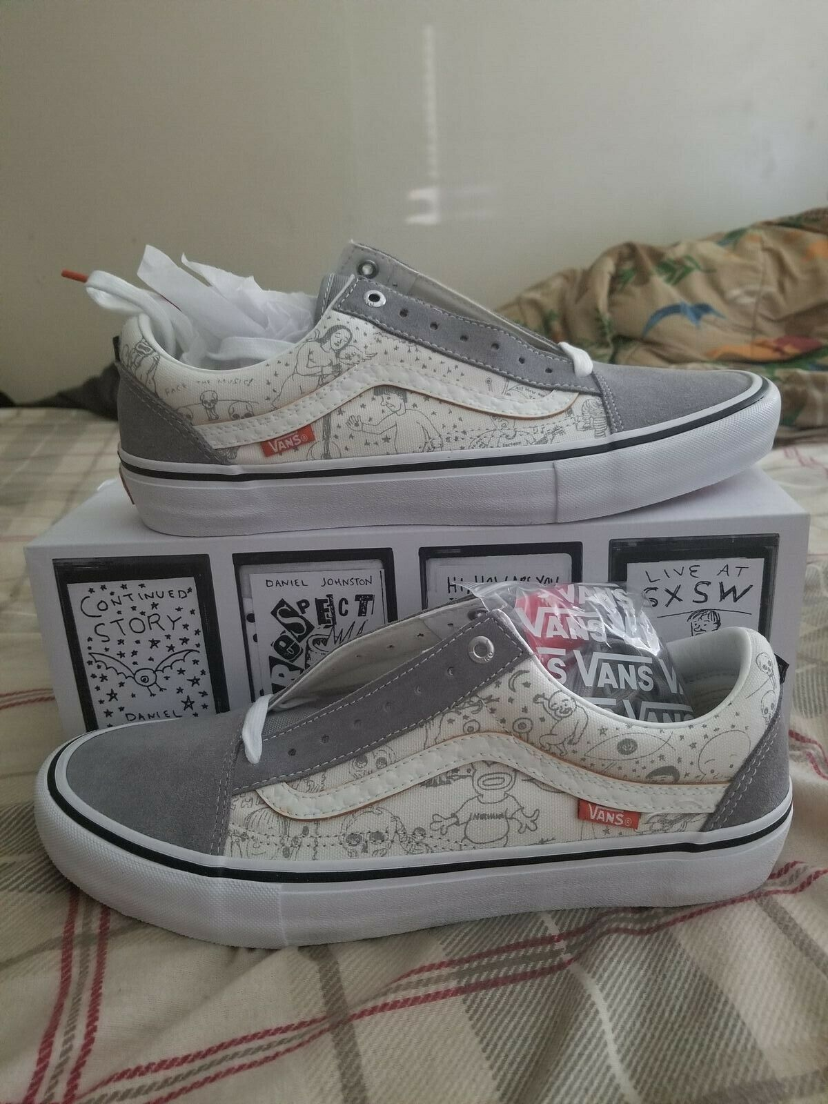 Vans Old Skool Pro No Comply Daniel Johnston
