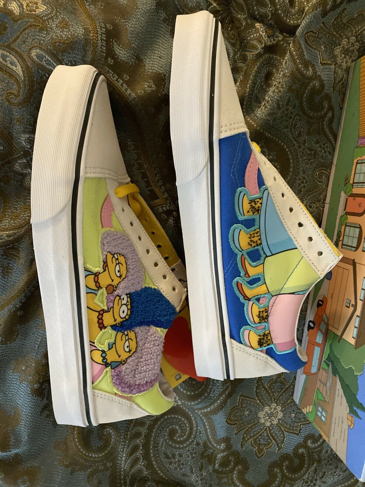 Vans Old Skool The Simpsons Bouvier Sisters