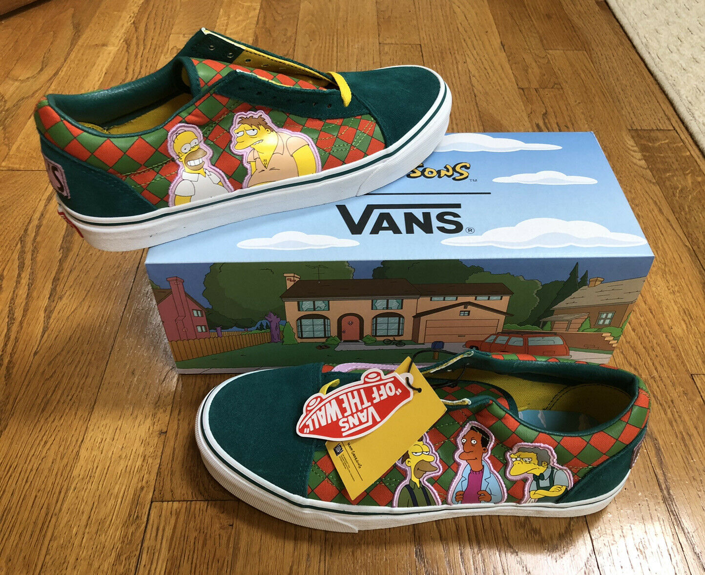 Vans Old Skool The Simpsons Moes